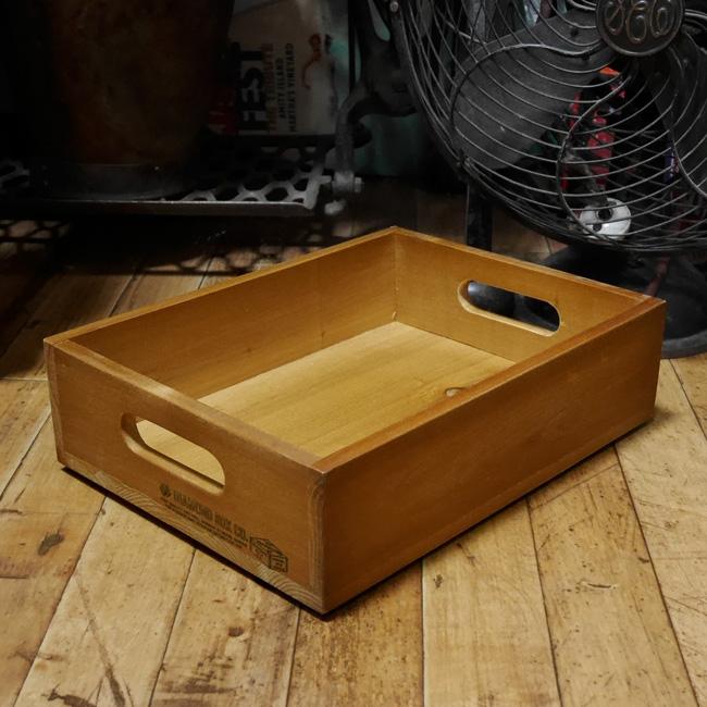 ラスティック フラットボックス(S)収納ボックス 木箱 ガーデンプランター ガーデニングの画像