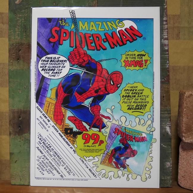 アメリカンポスター【スパイダーマン】アメコミポスター アメリカンインテリアの画像