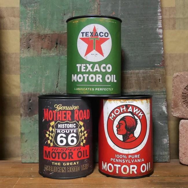 オイル缶 アメリカン 収納 インテリア リモコンホルダー アメリカン雑貨の画像