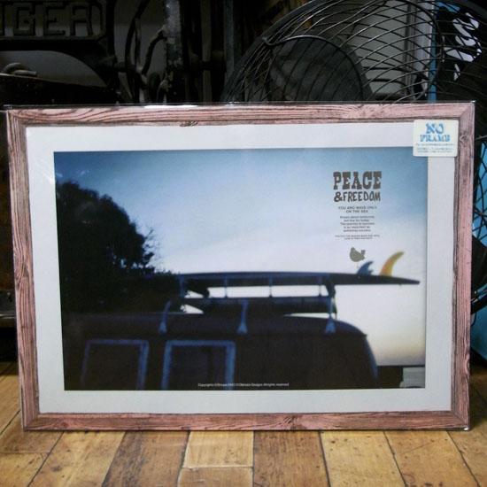 オイルショックデザインズ インテリア アートポスター ビーチポスターの画像