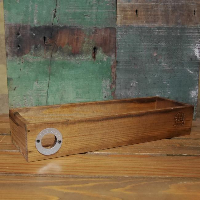 パインウッド ストックケース  収納ボックス 木箱 ウッドトレイ ガーデニングの画像