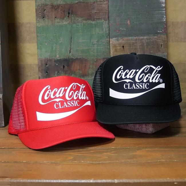 コカコーラ メッシュ キャップ 帽子 野球帽  アメカジ アメリカン雑貨画像