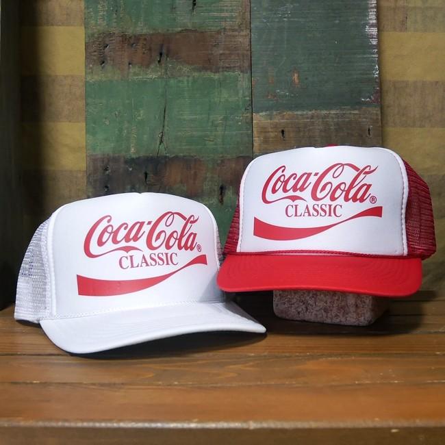 コカコーラ メッシュ キャップ 帽子 野球帽  アメカジ アメリカン雑貨の画像