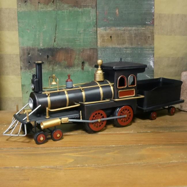 SL機関車  ブリキのおもちゃ SL スチーム ロコモーティブ 鉄道 レトロインテリアの画像