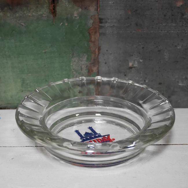 ユーズド ホテルアッシュトレイ レストラン灰皿 アンティーク 灰皿 アドバタイジング灰皿の画像