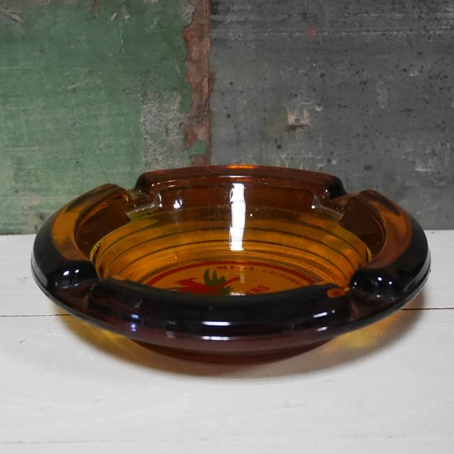 ユーズド ホテルアッシュトレイ レストラン灰皿 アンティーク 灰皿 アドバタイジング灰皿画像