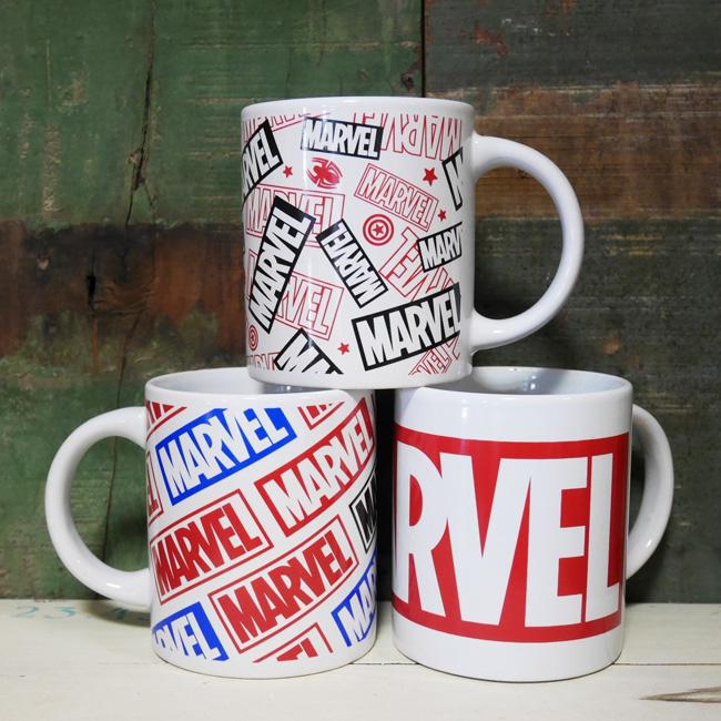 MARVEL マグカップ マーベル 陶器製 アメコミカップ アメリカン雑貨の画像