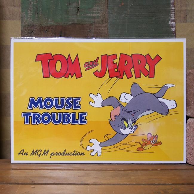 アメリカンポスター【トム&ジェリー】アメコミポスター アメリカン雑貨の画像