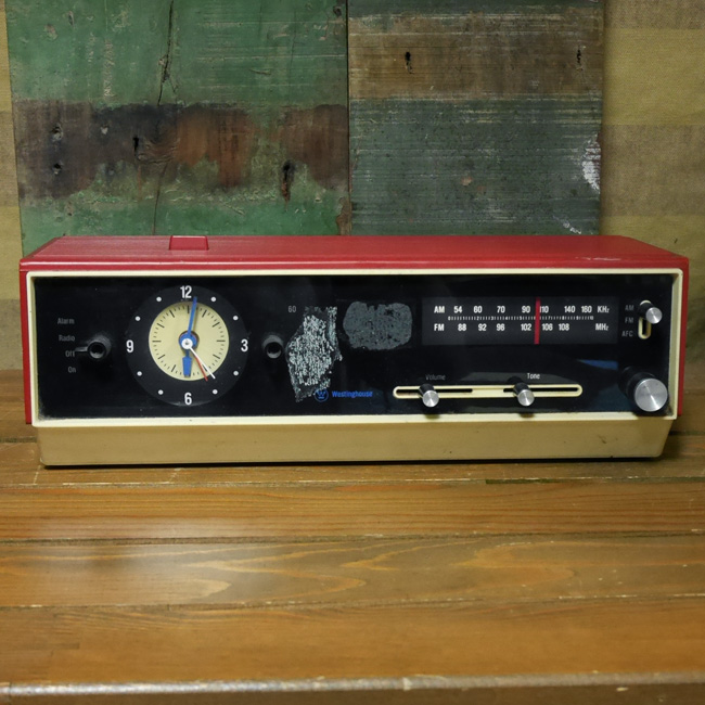 アンティーク ラジオ  レトロ インテリア ウェスティングハウス エレクトリックの画像