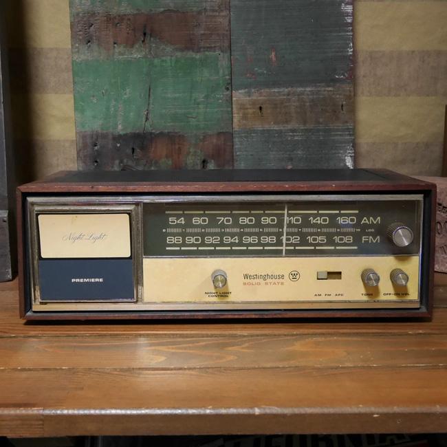 アンティーク ラジオ Westinghouse レトロ インテリア ウェスティングハウス ジャンクの画像