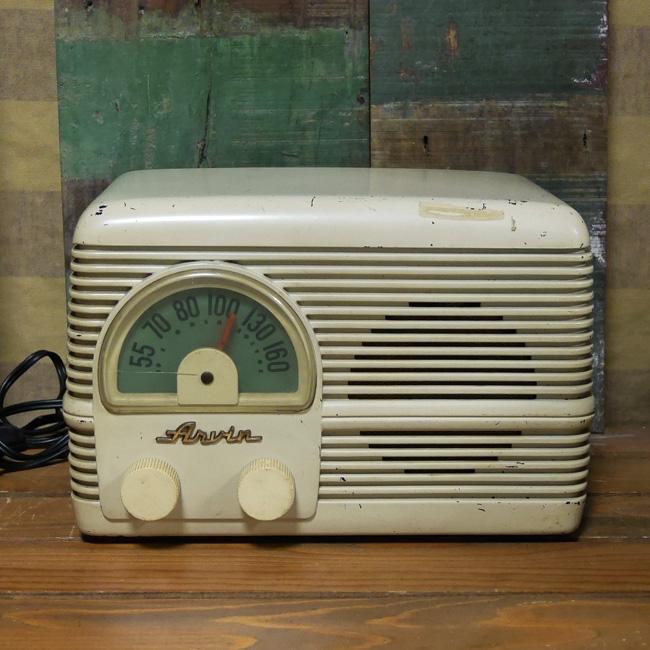 アンティーク 真空管 ラジオ ARVIN 153T レトロ アーヴィン radioジャンクの画像