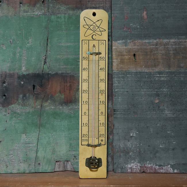 ヴィンテージ 温度計 レトロ インテリア ジャンク 昭和レトロの画像