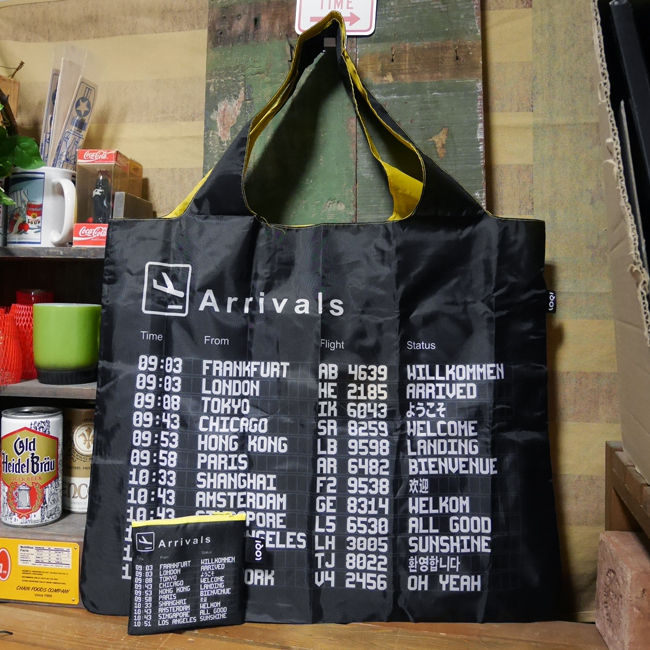 LOQI エコバック ローキーArtist Collection AIRPORT/Arrivals 空港 サブバッグ画像