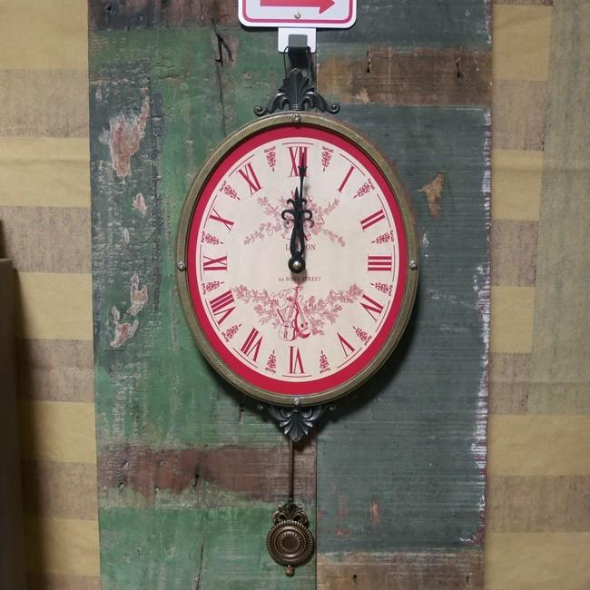 バロックムジカ・クロック 掛け時計 ウォールクロック レトロ掛け時計 画像