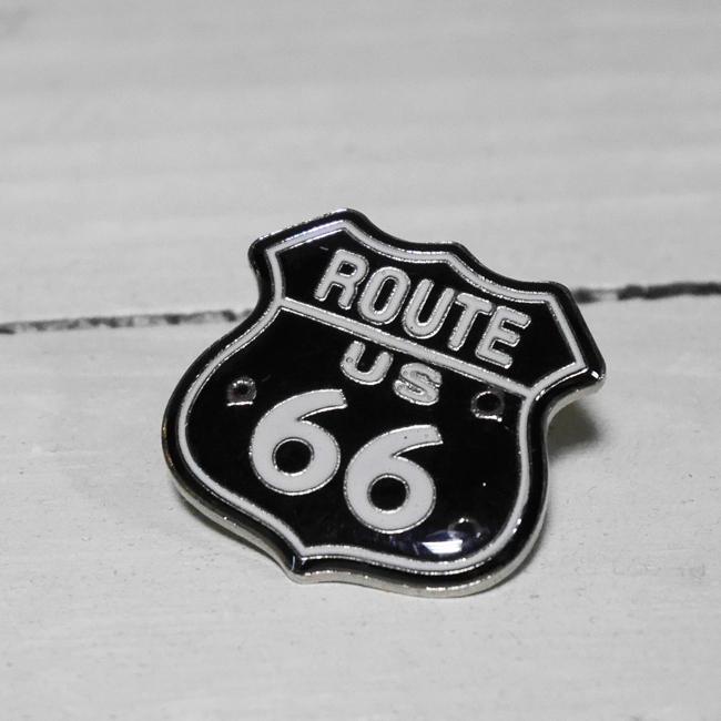 ルート66ピンズ USピンバッジ ROUTE66 アメリカン雑貨の画像