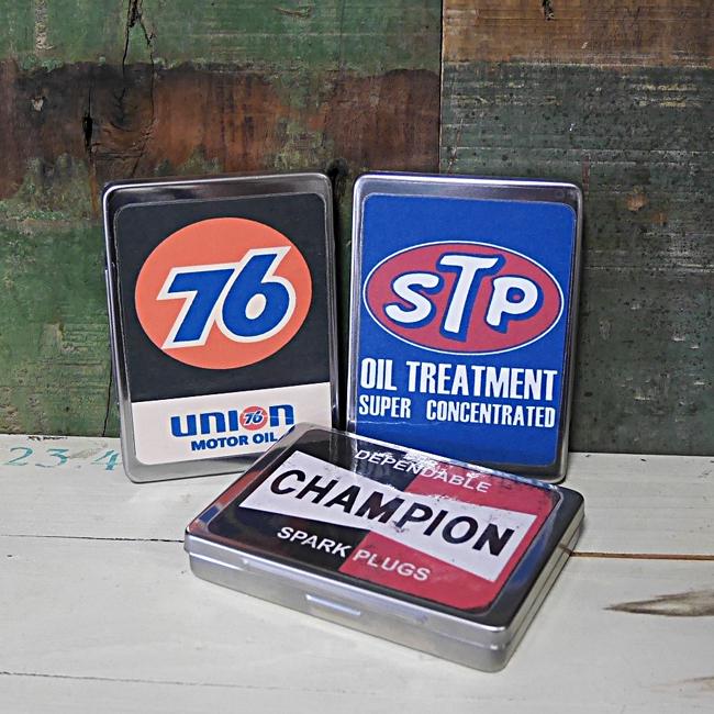 マルチフリー缶 アメリカン オイルメーカー ステンレスケース 収納 小物入れ アメリカン雑貨画像