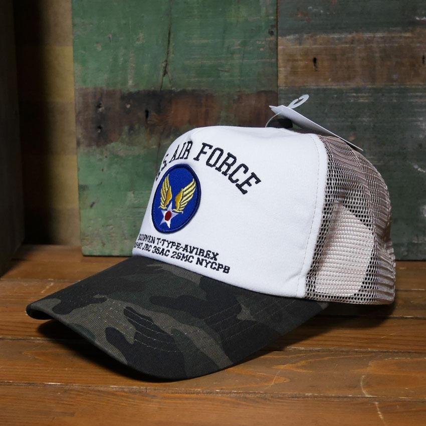 AVIREX 帽子USエアフォース アヴィレックス ミリタリー アメカジ アメリカン雑貨画像