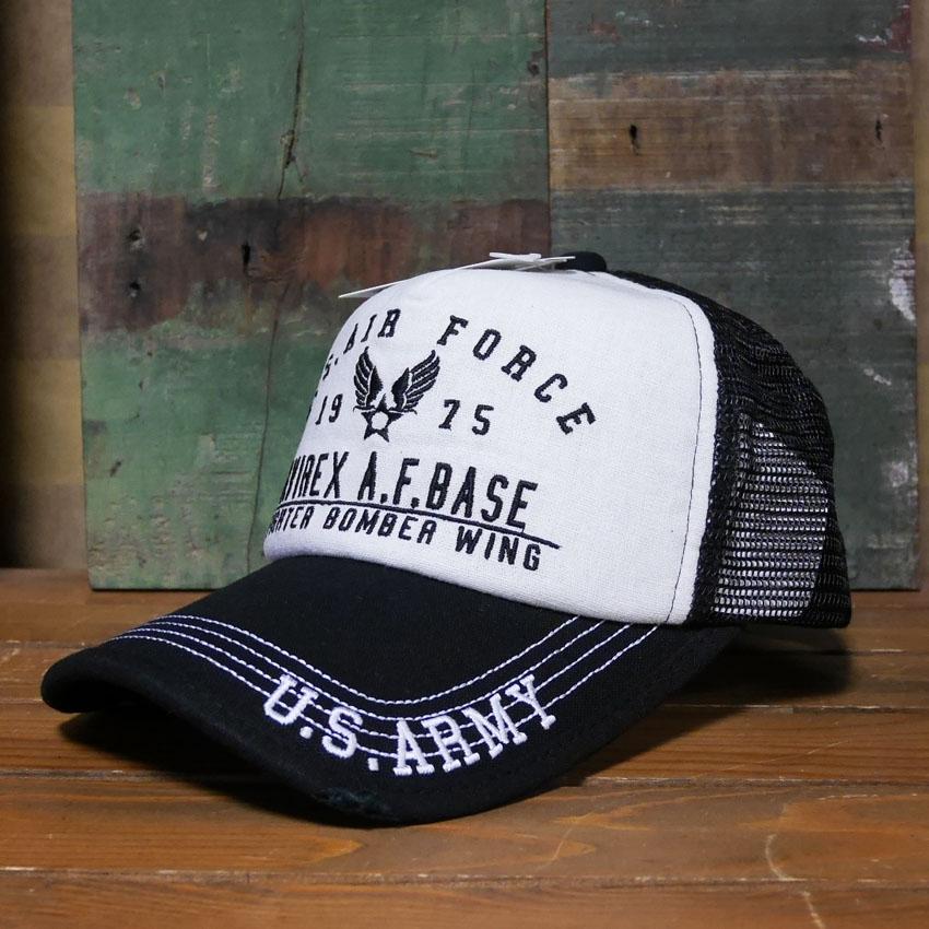 AVIREX 帽子USエアフォースEMB  アヴィレックス ミリタリー アメカジ アメリカン雑貨画像