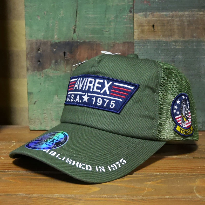 AVIREX 帽子 TP PATCH  アヴィレックス ミリタリー アメカジ アメリカン雑貨画像
