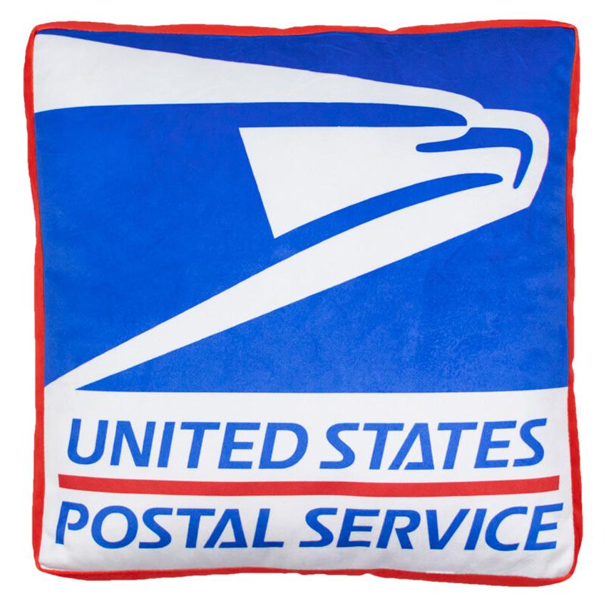 USPS アドバタイジング クッション アメリカン 米国郵政公社 座布団画像
