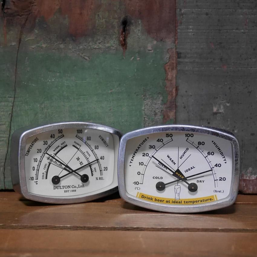 ダルトン 温度計・湿度計 Thermo-hygrometer スクエア   アメリカン雑貨画像