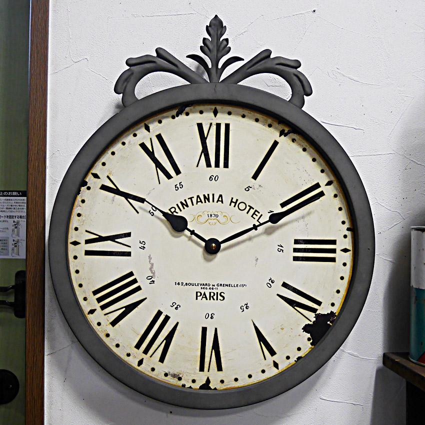 グレーシュクロック 壁掛け時計 アンティーク レトロ ウォールクロック アメリカンインテリア画像