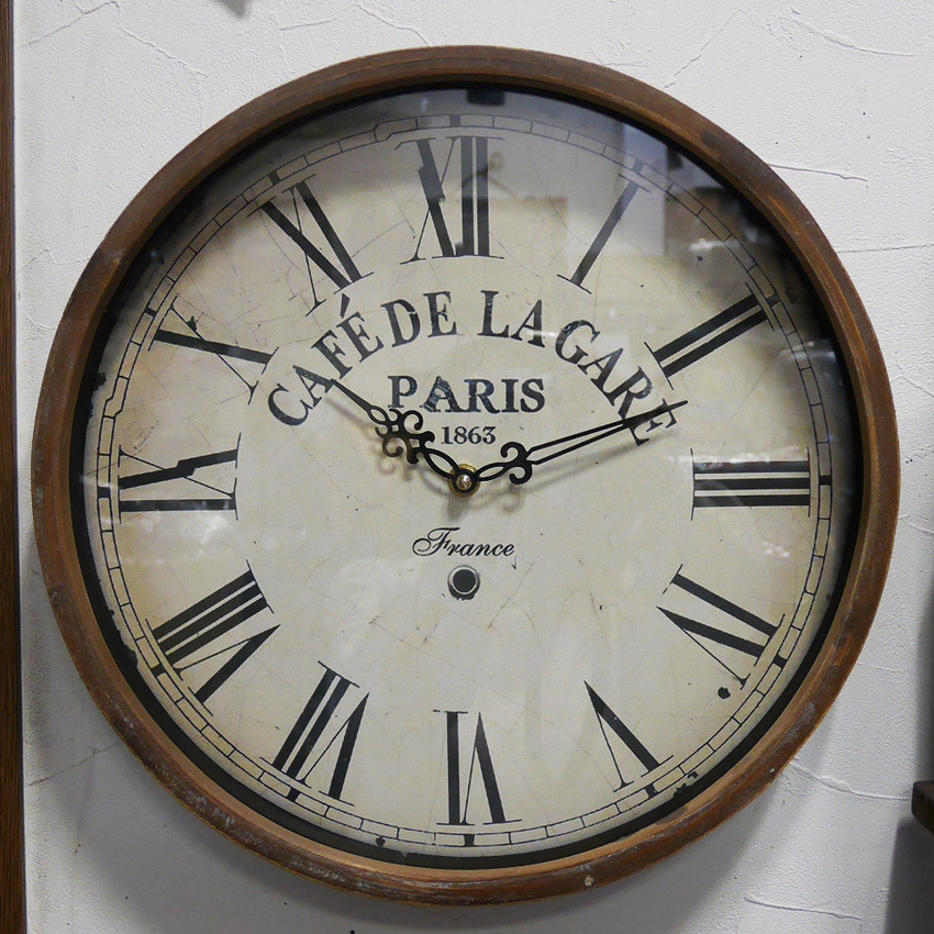 ラガール・クロック 壁掛け時計 アンティーク レトロ ウォールクロック アメリカンインテリア画像