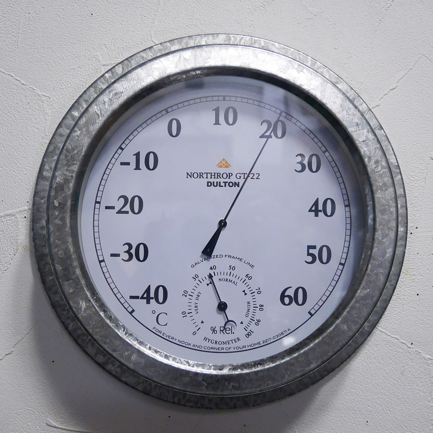 ダルトン 温度計・湿度計  NORTHROP GT-22   アメリカン雑貨画像