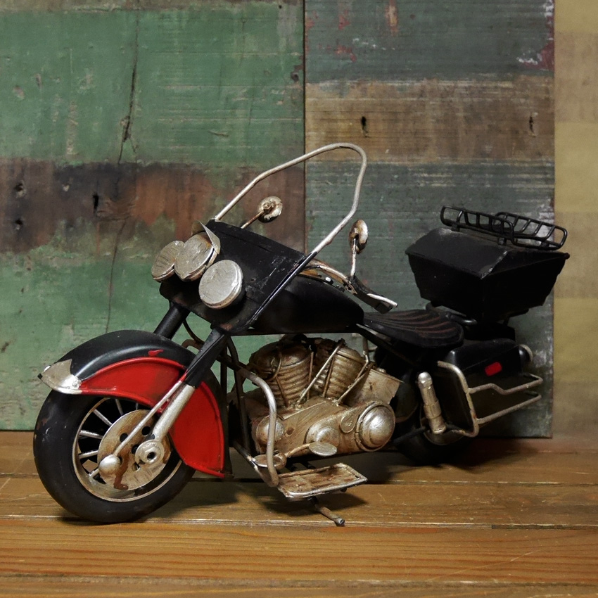 ヴィンテージ モーターサイクル WILD SEVEN ブリキおもちゃ ガレージインテリア アメリカン雑貨画像
