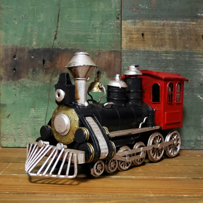 SL機関車  ブリキのおもちゃ SL スチーム  汽車 レトロインテリア画像