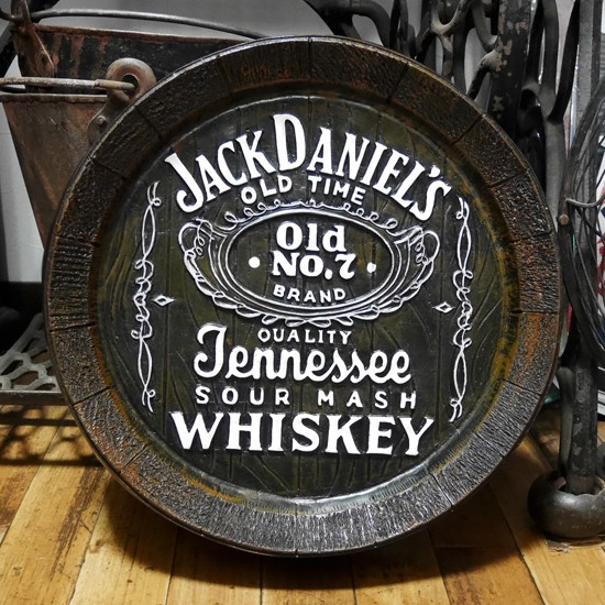 ジャックダニエル バレルサイン JACK DANIEL'S 樽 アメリカンインテリア の画像