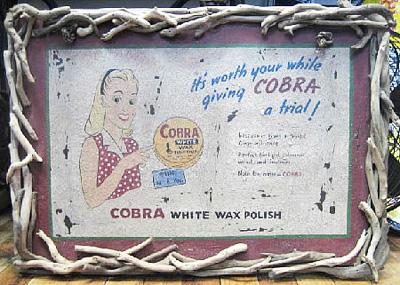 インテリアボード 流木フレーム【COBRA】 アメリカンインテリア アメリカン雑貨の画像