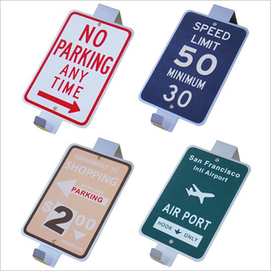 アメリカン ドアハンガー 道路標識 フックハンガー アメリカン雑貨 インテリア雑貨画像