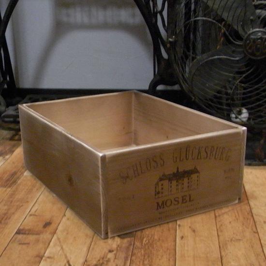 ワインボックス アンティーク 収納ボックス【モーゼス】 インテリア雑貨 アメリカン雑貨の画像