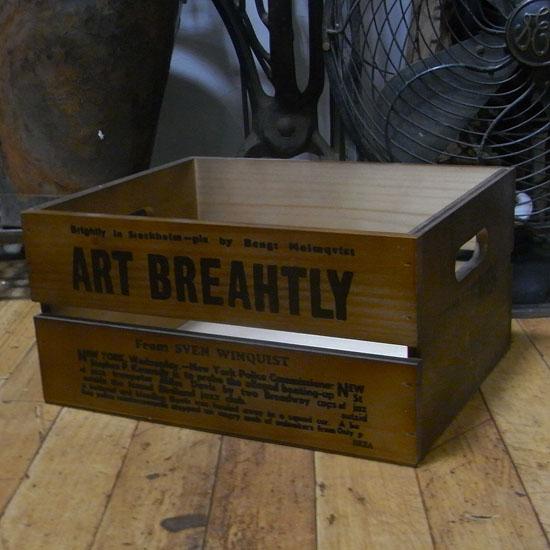 収納 木箱 フリーボックス ウッドケース インテリア雑貨 アメリカン雑貨の画像