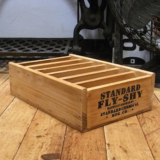 木製 収納ボックス カードホルダー インテリア雑貨 アメリカン雑貨の画像