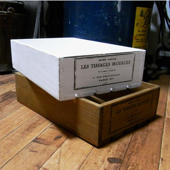 ハーベストボックス 収納ボックス  インテリア雑貨 アメリカン雑貨の画像
