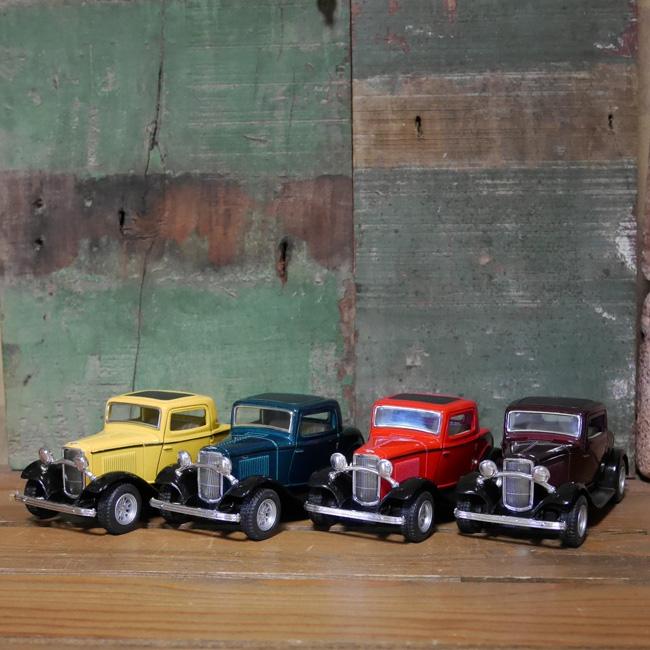 フォードクラシックカー 1932FORD3-Window Coupe レトロミニカー キンスマート アメリカン雑貨の画像