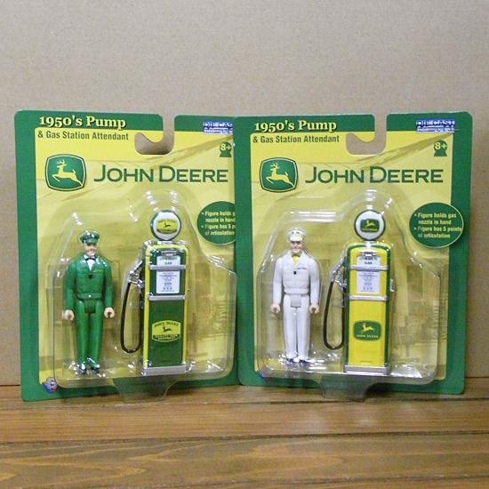 ジョンディアー ダイキャスト ガスポンプ インテリア  アメリカン雑貨の画像