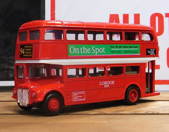 ロンドンバス ダイキャストミニカー  アメリカン雑貨の画像