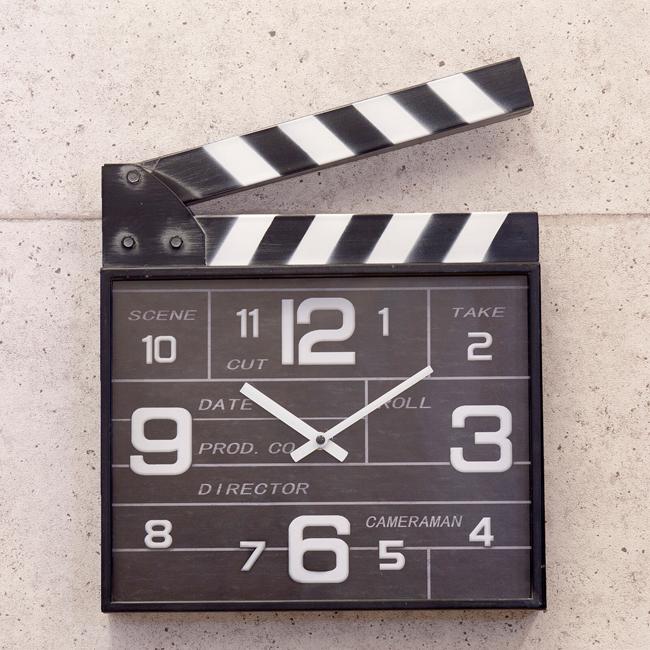 アンティーククロック 壁&置時計[Clapper クラッパー] 掛け時計 アメリカンインテリアの画像