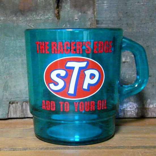 アドバタイジング クリアマグカップ STP アメリカン雑貨 の画像