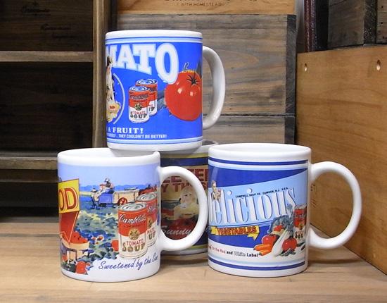 キャンベル マグカップ 陶器製 アメリカン雑貨の画像