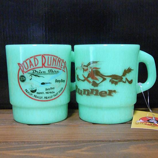 ロードランナー  ミルキー スタッキング マグカップ アメリカン雑貨の画像