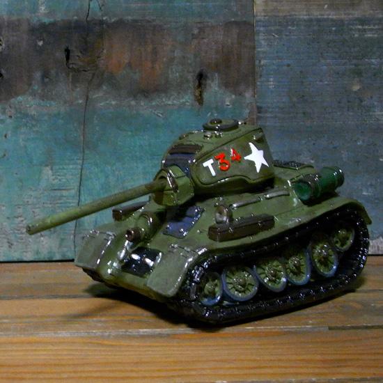 アーミータンク 戦車 レジン レジン貯金箱 車バンク 置物インテリア アメリカン雑貨 の画像