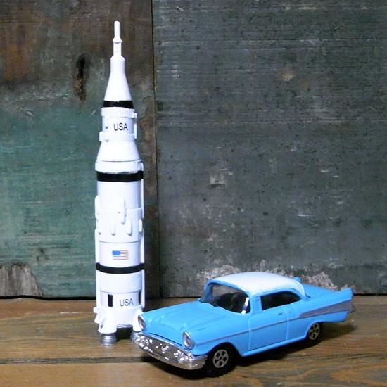 ペンシルシャープナー ロケット クーペ アメリカン雑貨の画像