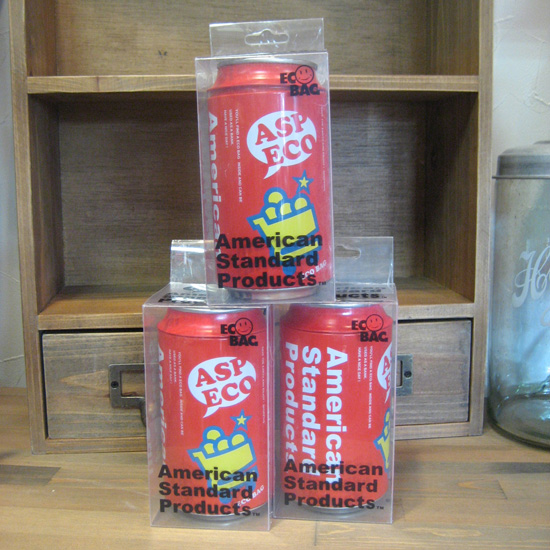 ドリンク缶バンク &エコバック アメリカン雑貨の画像