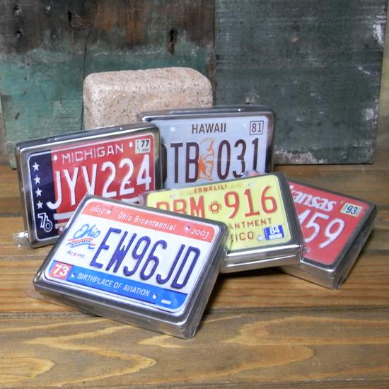 アメリカン ナンバープレート マルチフリー缶 アメリカン雑貨の画像