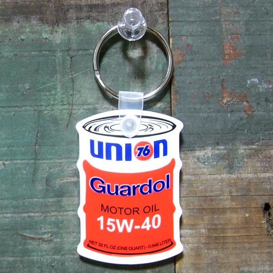 オイル缶 ラバー キーホルダー UNION76 ユニオン76 アメリカン雑貨の画像