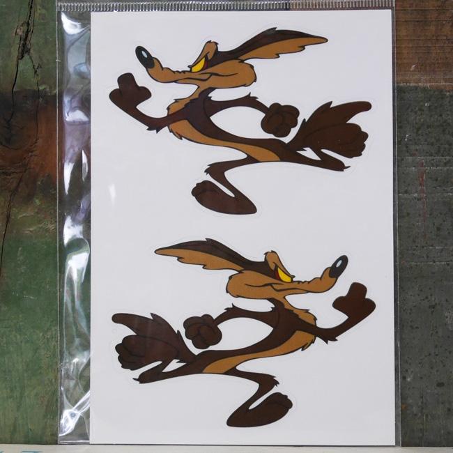 ワイリーコヨーテ  ルーニーテューンズ  ステッカー シール アメリカン雑貨の画像